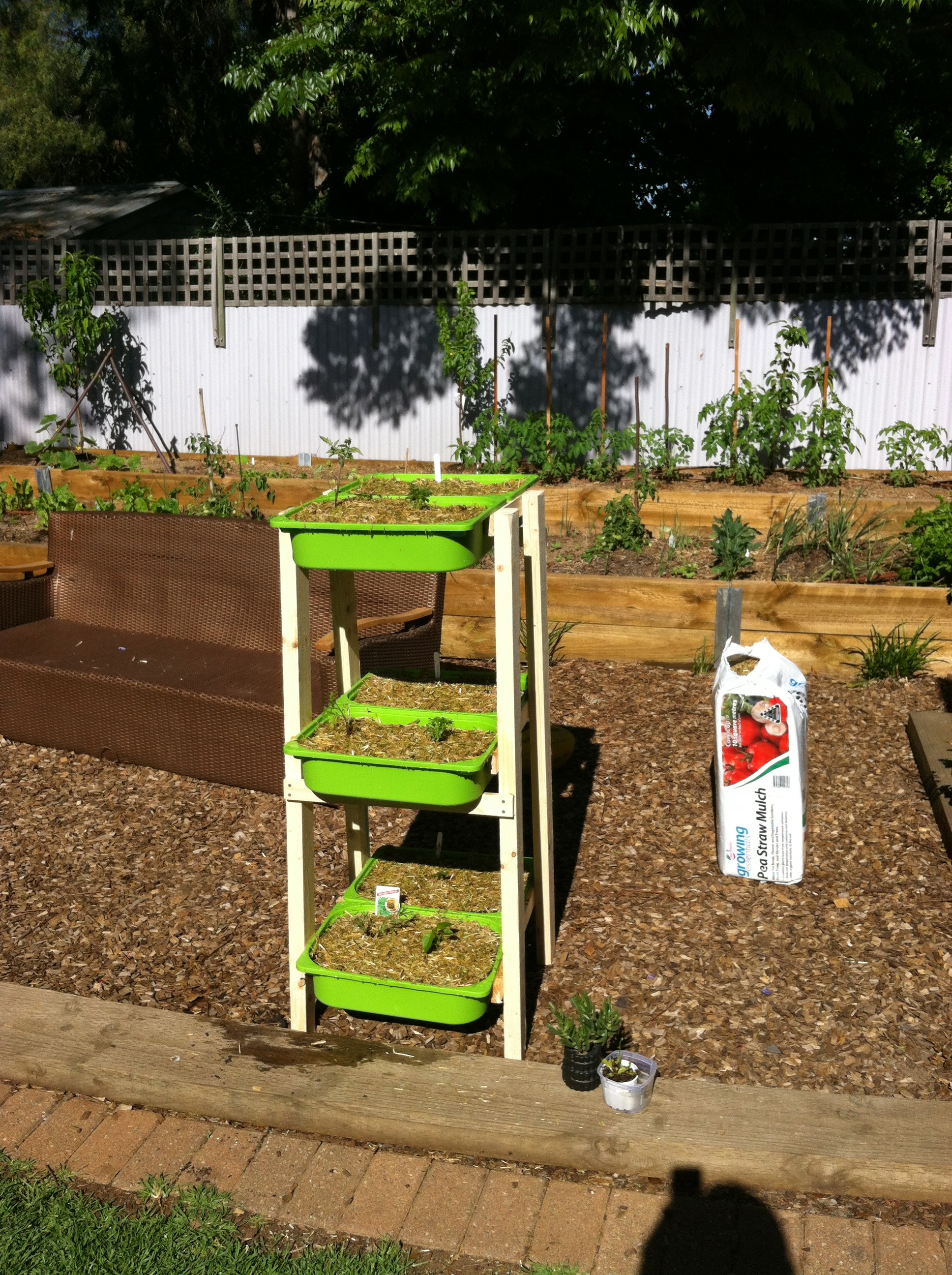 Make Your Own Container Garden Using Bits From Ikea | Pete\'s ...